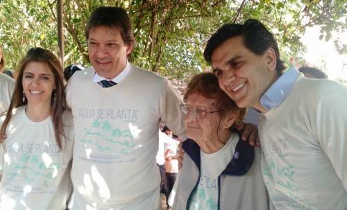 Ana Primavesi, Fernando Haddad, Gabriel Chalita, Ana Estela Haddad