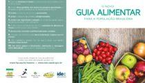 Folder Novo Guia Alimentar da População Brasileira